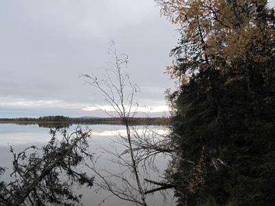Vuoskujärvi syksyllä